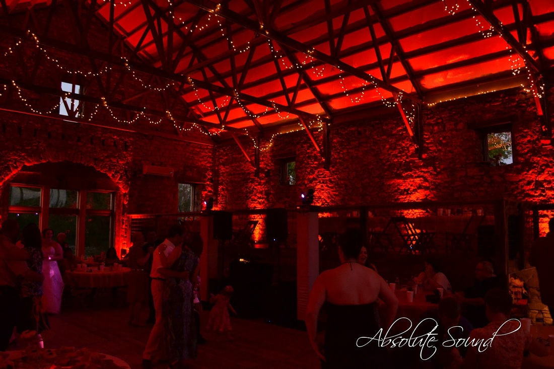 Wichita kansas wedding lighting design customized led uplighting